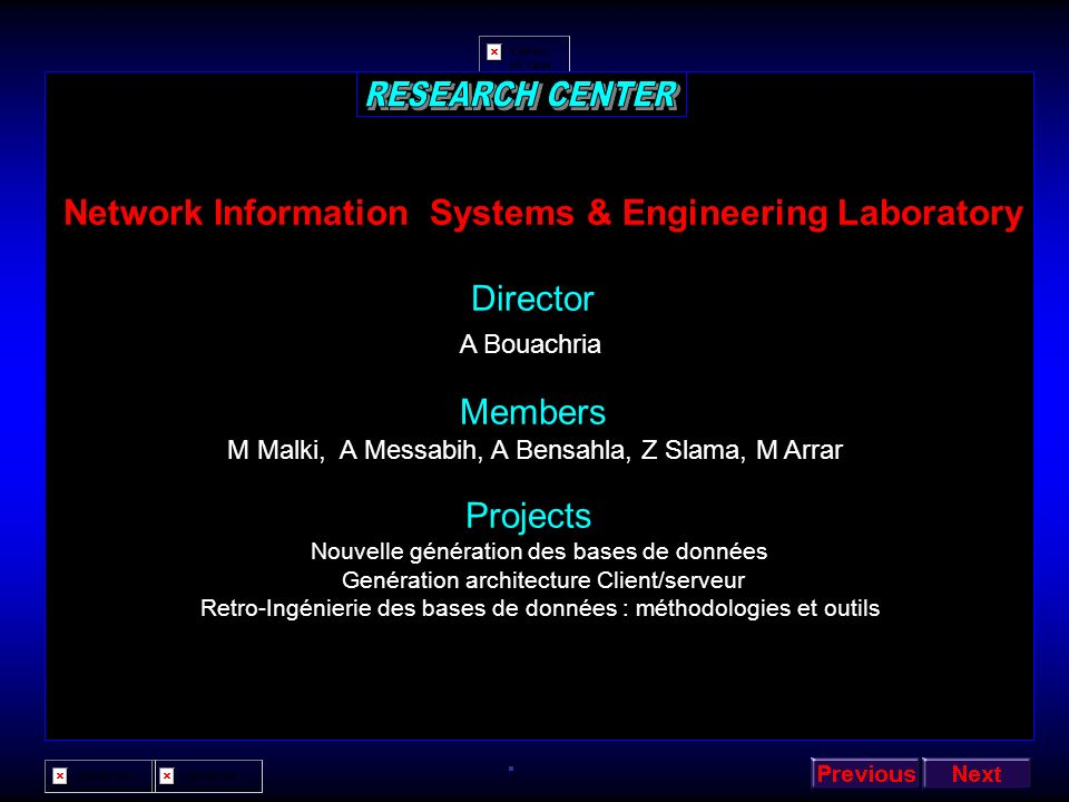 Network Information Systems & Engineering Laboratory