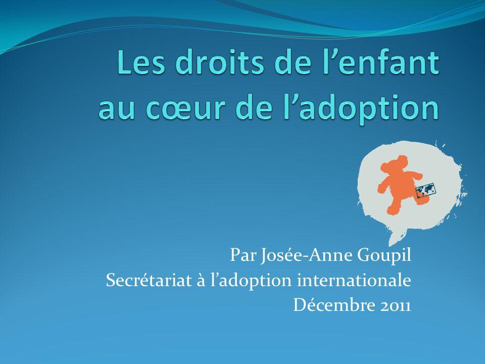 Les droits de l'enfant au cœur de l'adoption