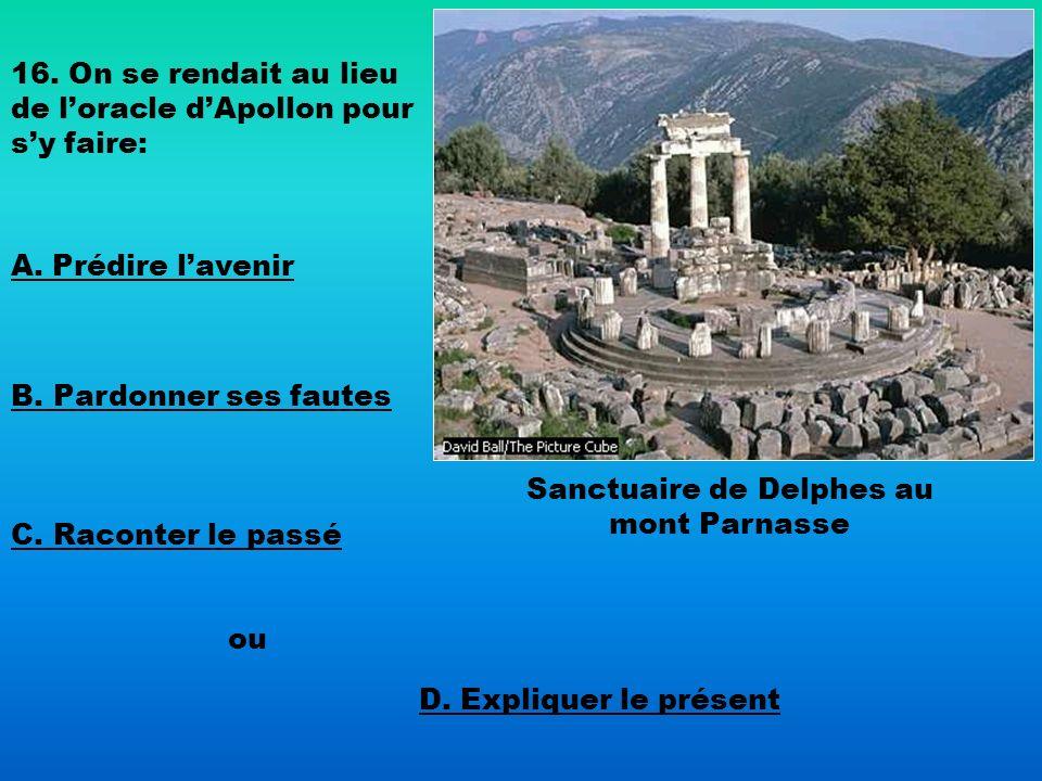 Sanctuaire de Delphes au mont Parnasse