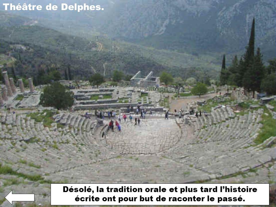 Théâtre de Delphes.