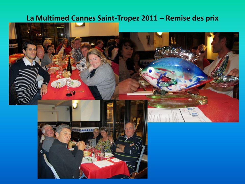 La Multimed Cannes Saint-Tropez 2011 – Remise des prix