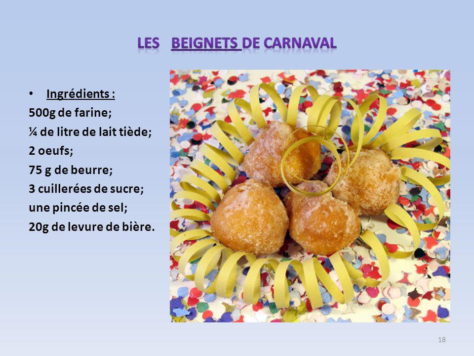 Les BEIGNETS de carnaval