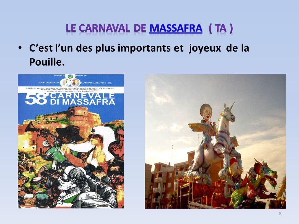 Le carnaval de MASSAFRA ( TA )