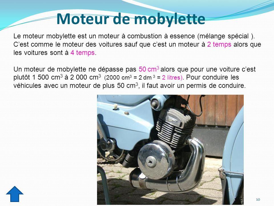 Moteur de mobylette