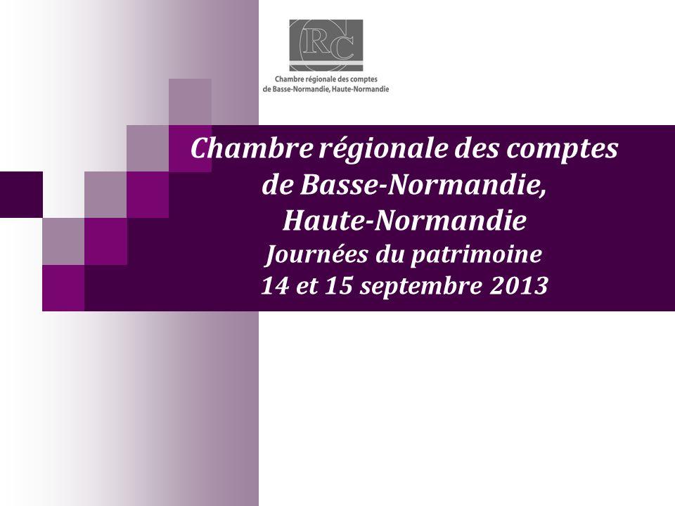 Chambre régionale des comptes de Basse-Normandie, Haute-Normandie