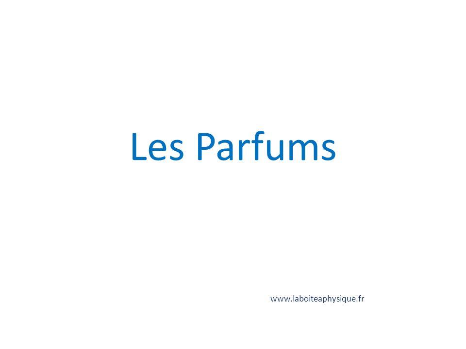 Les Parfums www.laboiteaphysique.fr