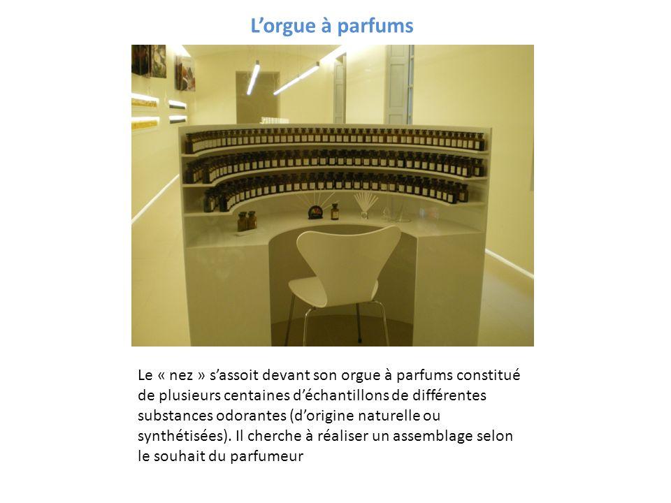L'orgue à parfums