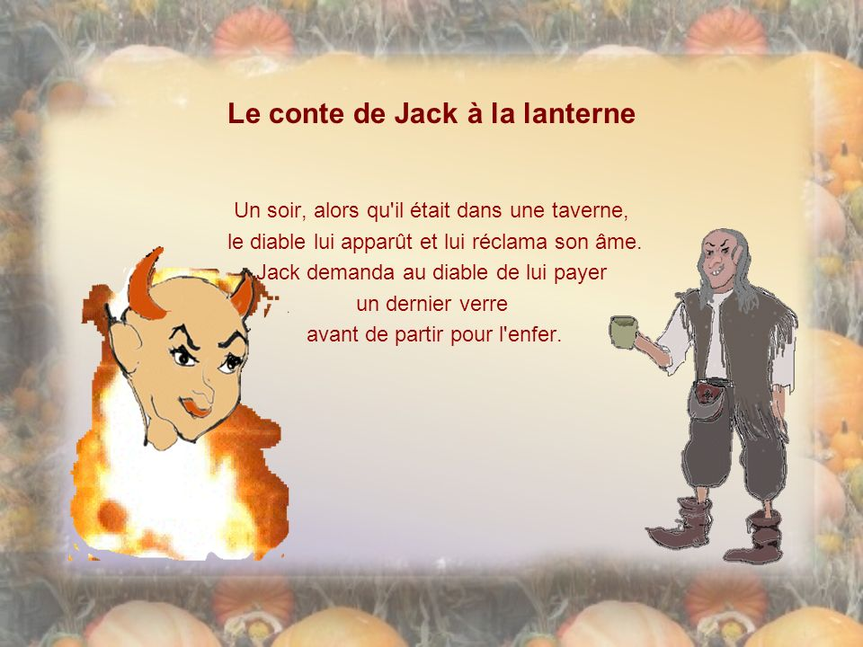 Le conte de Jack à la lanterne