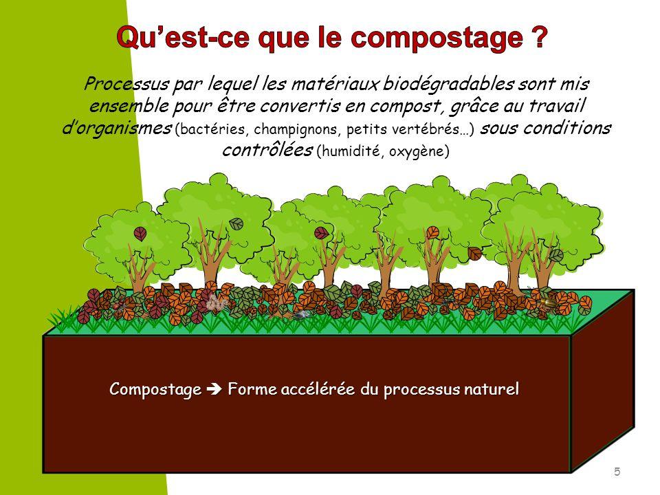 Qu'est-ce que le compostage