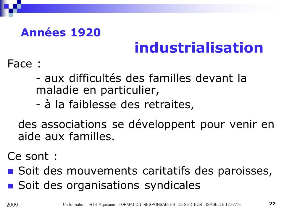 Années 1920 industrialisation