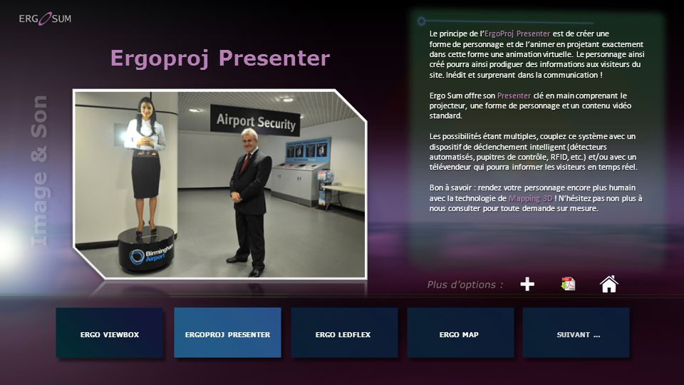 Ergoproj Presenter Image & Son
