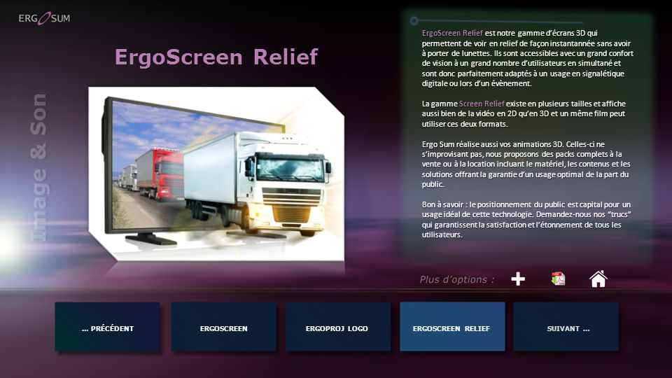 ErgoScreen Relief Image & Son