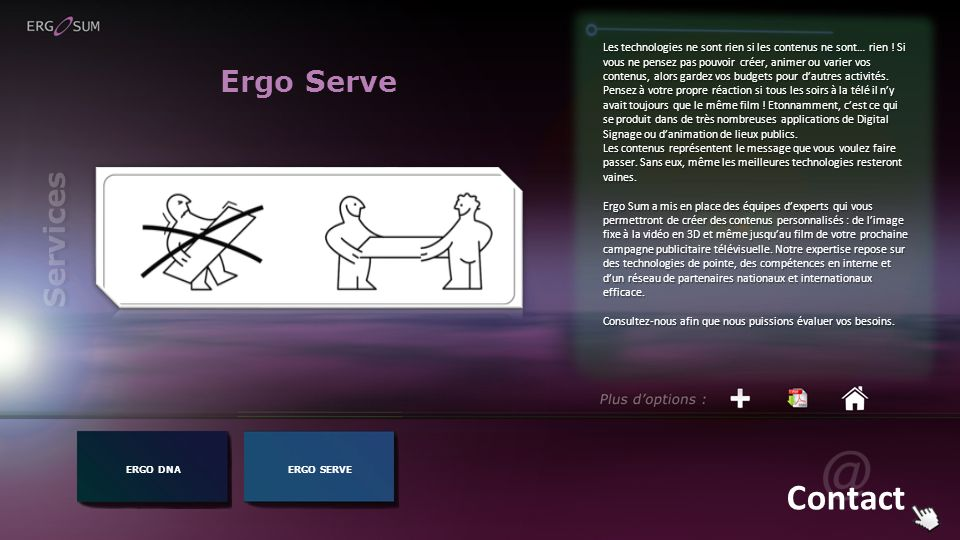 Contact Ergo Serve Services