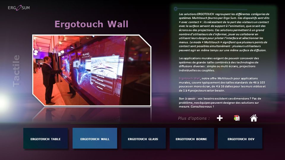 Ergotouch Wall Tactile