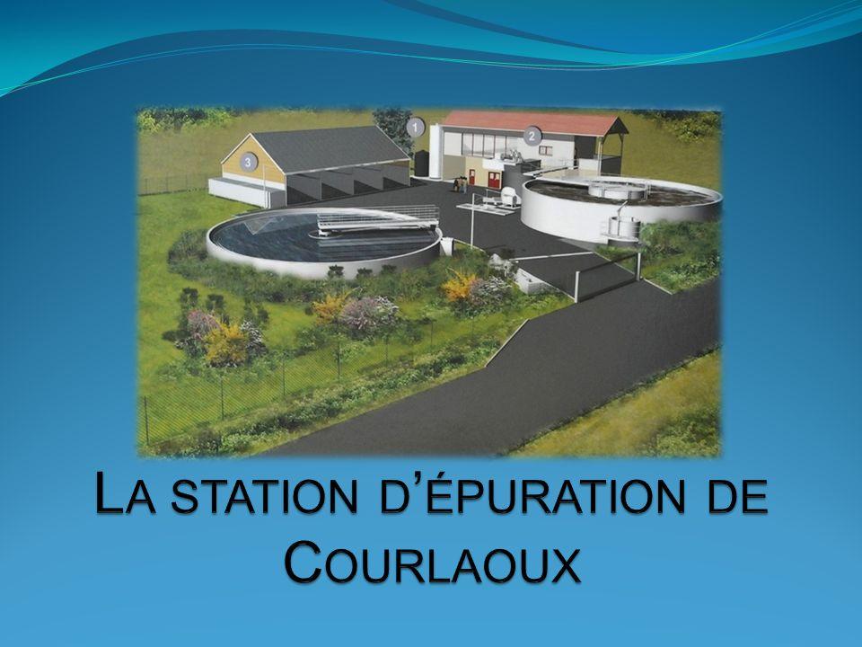 La station d'épuration de Courlaoux