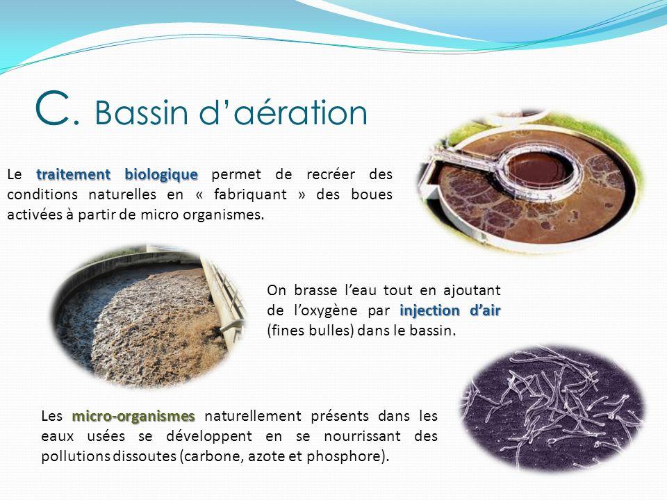C. Bassin d'aération