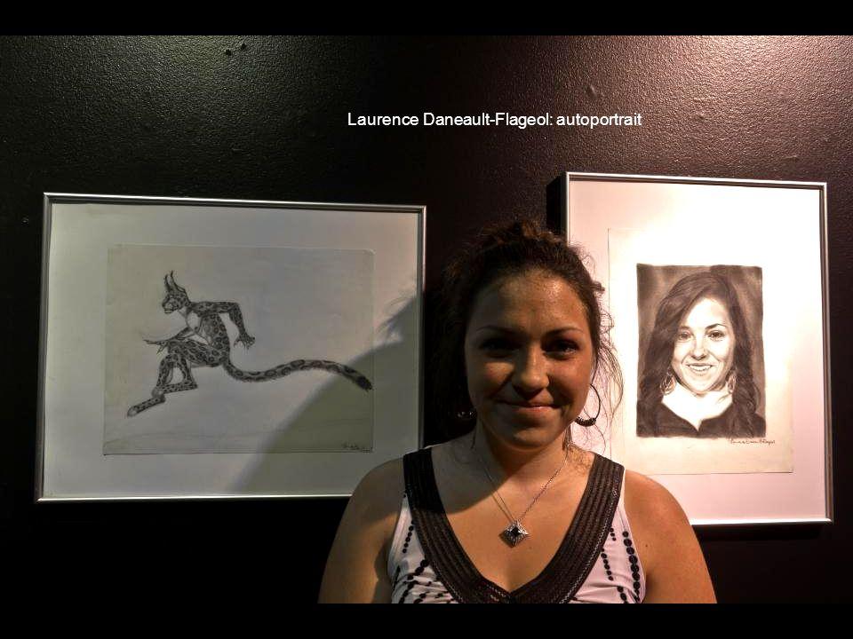 Laurence Daneault-Flageol: autoportrait