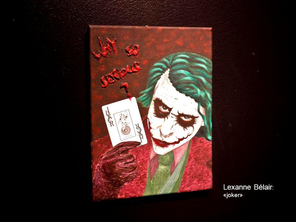 Lexanne Bélair: «joker»