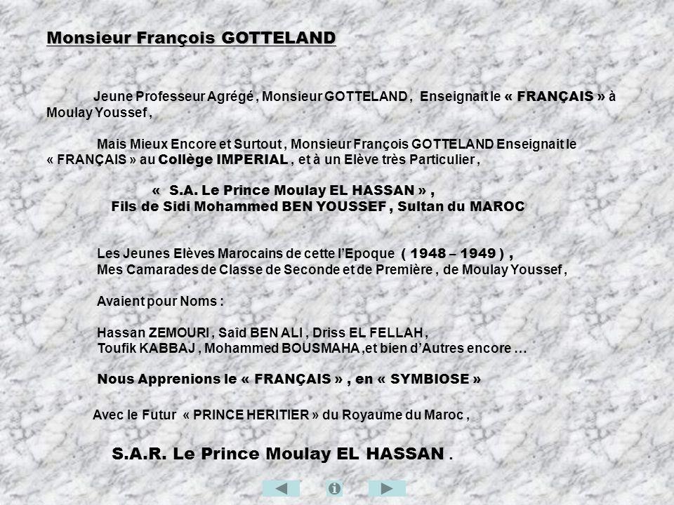 Monsieur François GOTTELAND