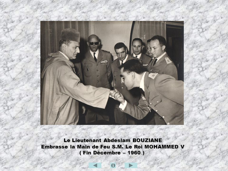 Le Lieutenant Abdeslam BOUZIANE