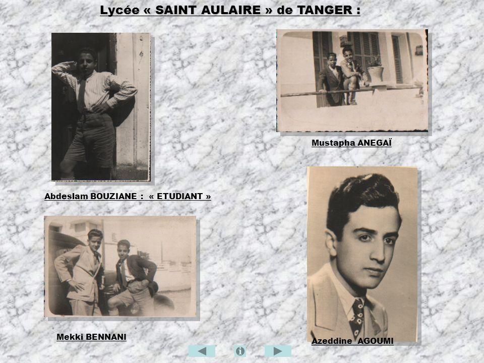 Lycée « SAINT AULAIRE » de TANGER :