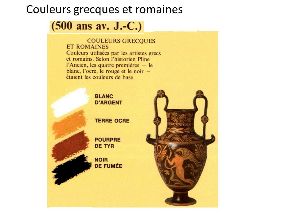 Couleurs grecques et romaines