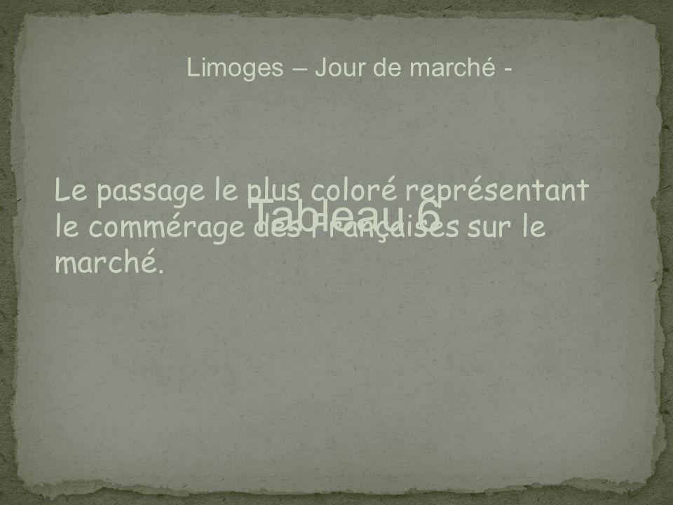 Limoges – Jour de marché -