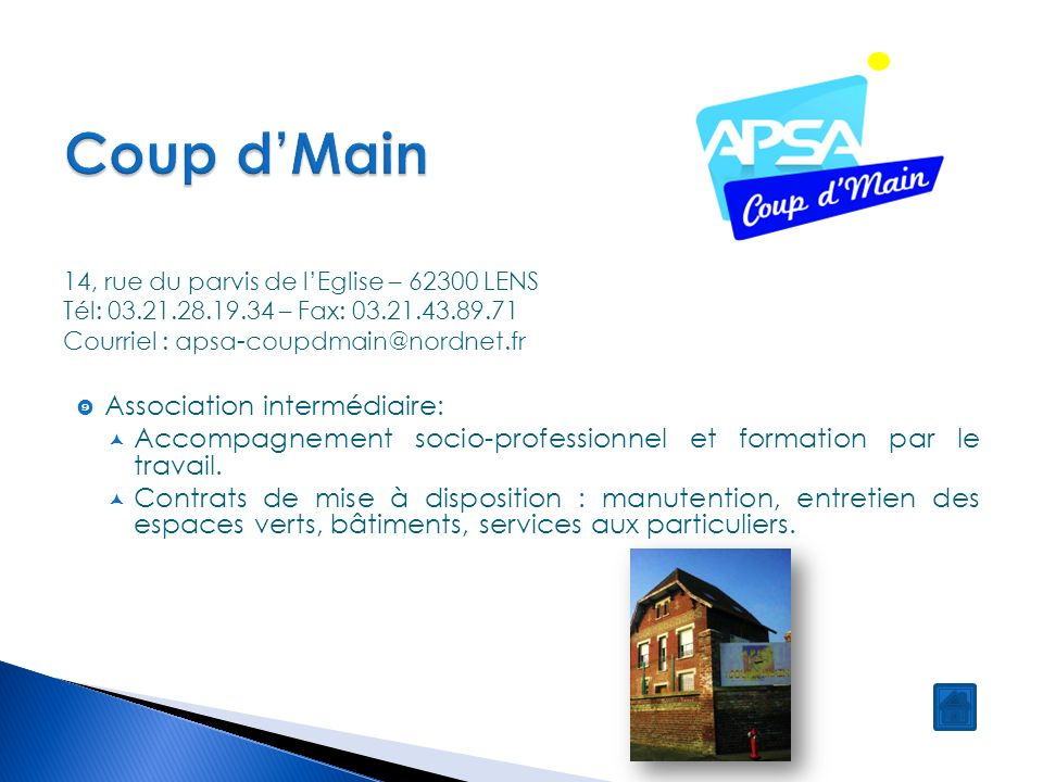 Association pour la solidarit active ppt video online for Association entretien espaces verts