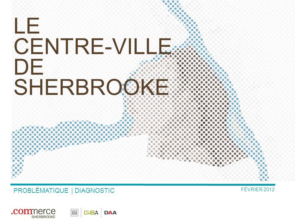 le centre-ville de Sherbrooke