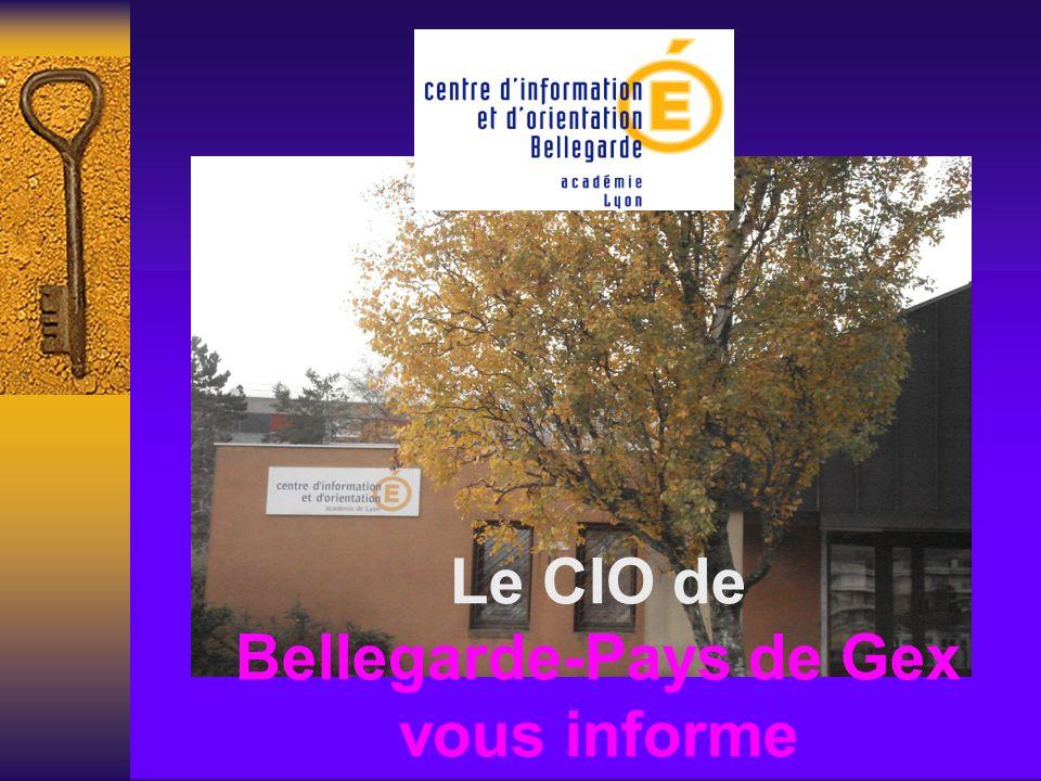 Le CIO de Bellegarde-Pays de Gex vous informe