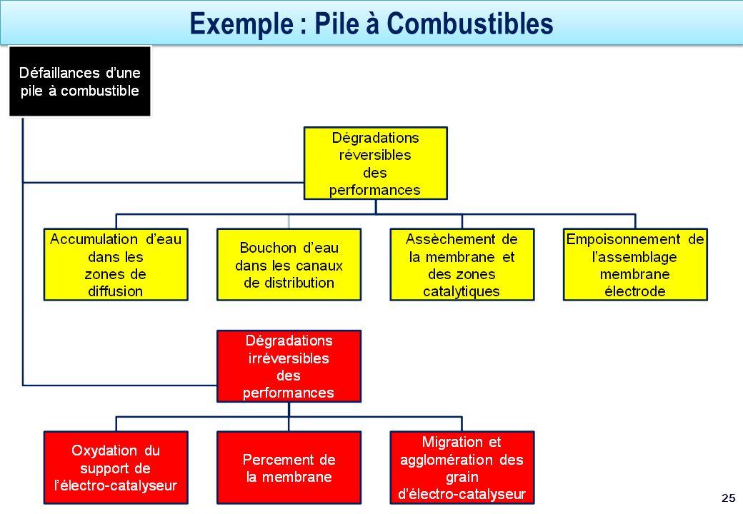 Exemple : Pile à Combustibles