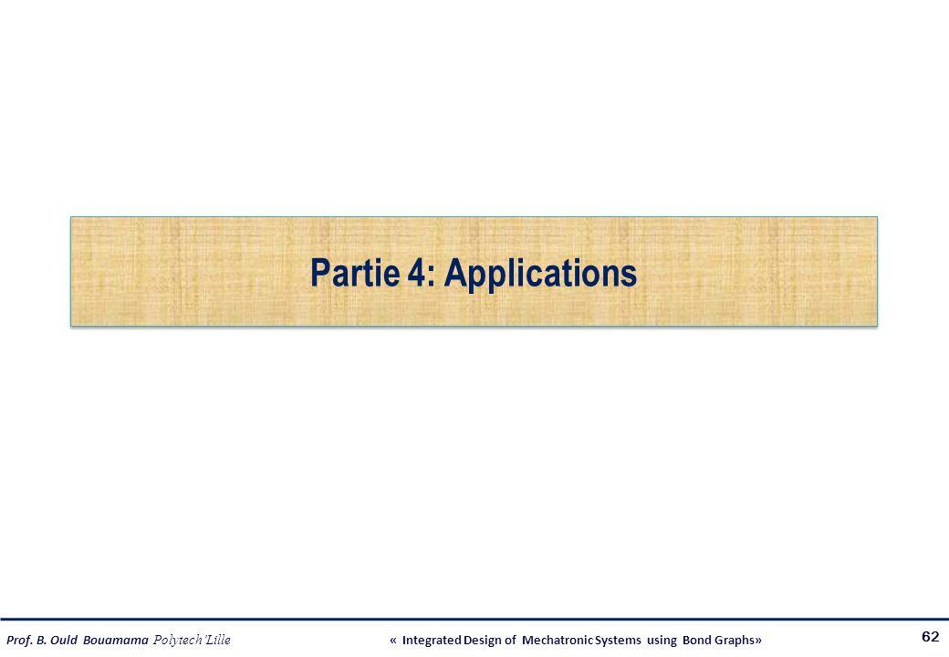 Partie 4: Applications