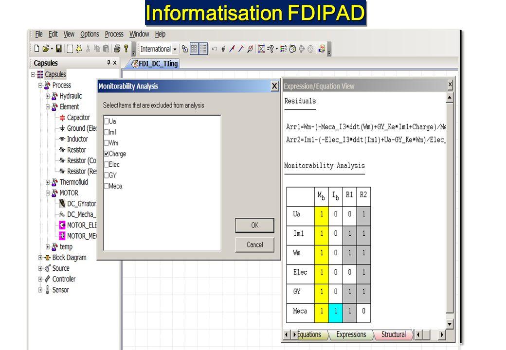 Informatisation FDIPAD