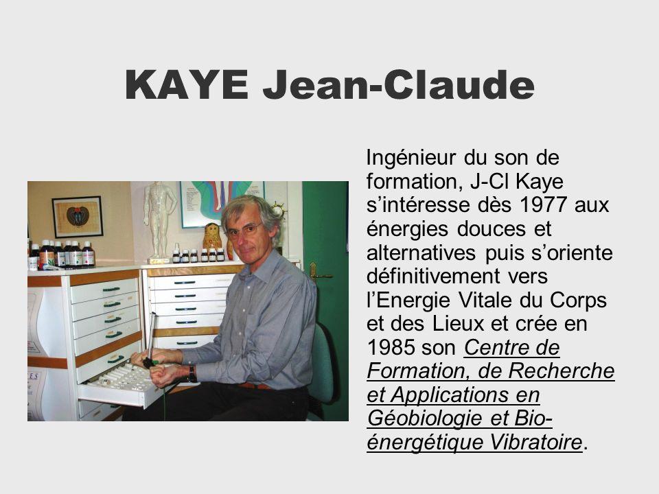 KAYE Jean-Claude