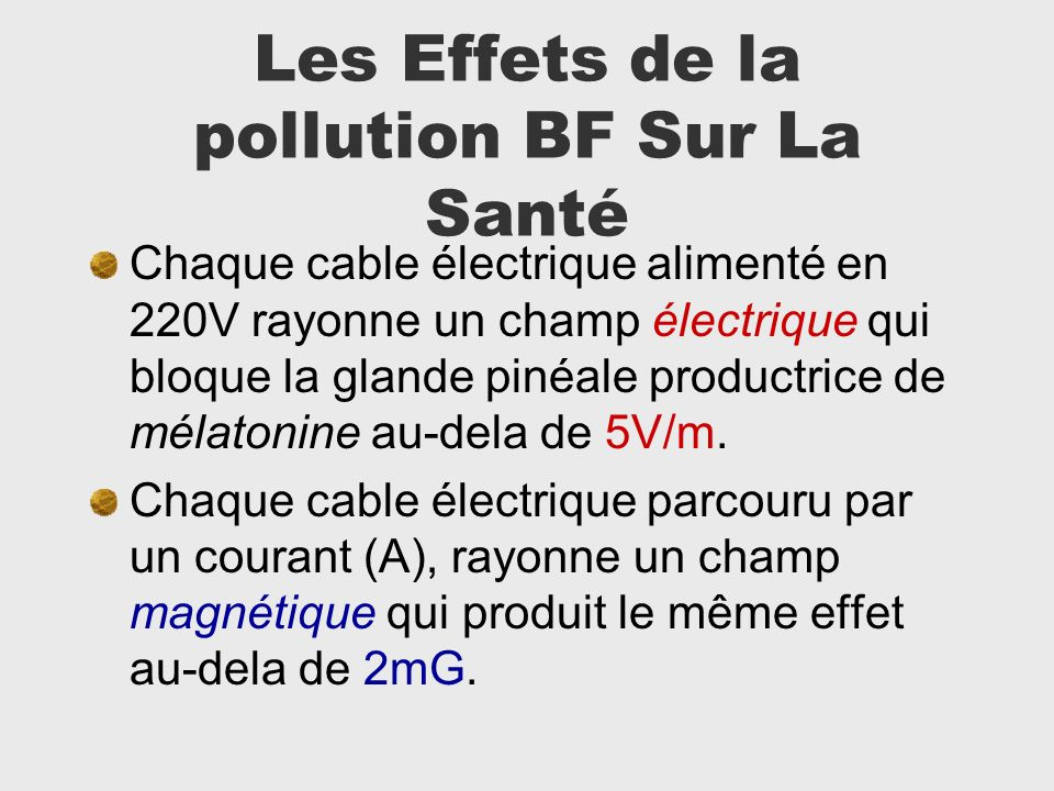 Les Effets de la pollution BF Sur La Santé