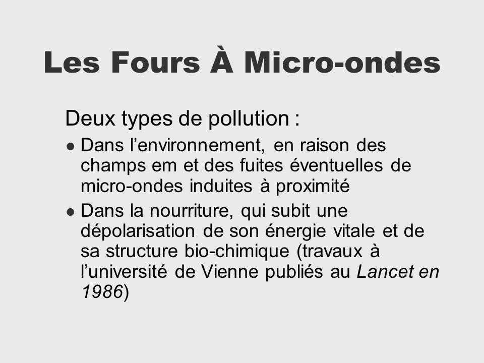Les Fours À Micro-ondes