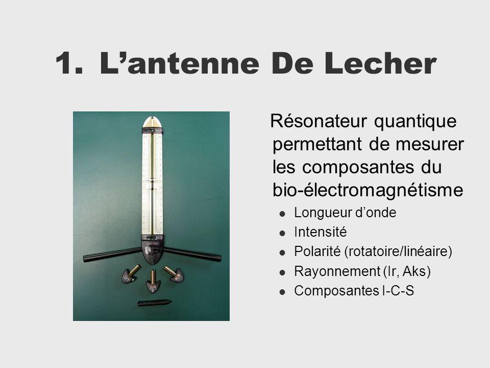 L'antenne De Lecher Résonateur quantique permettant de mesurer les composantes du bio-électromagnétisme.