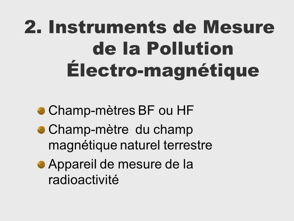 2. Instruments de Mesure de la Pollution Électro-magnétique