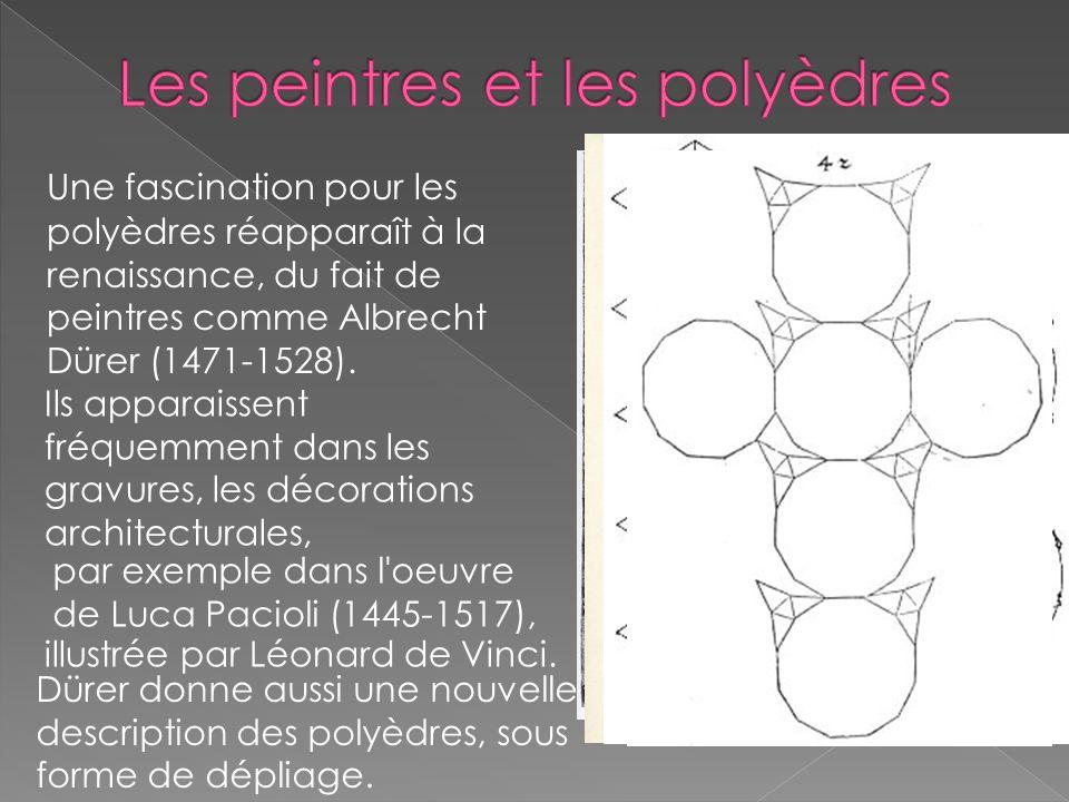 Les peintres et les polyèdres