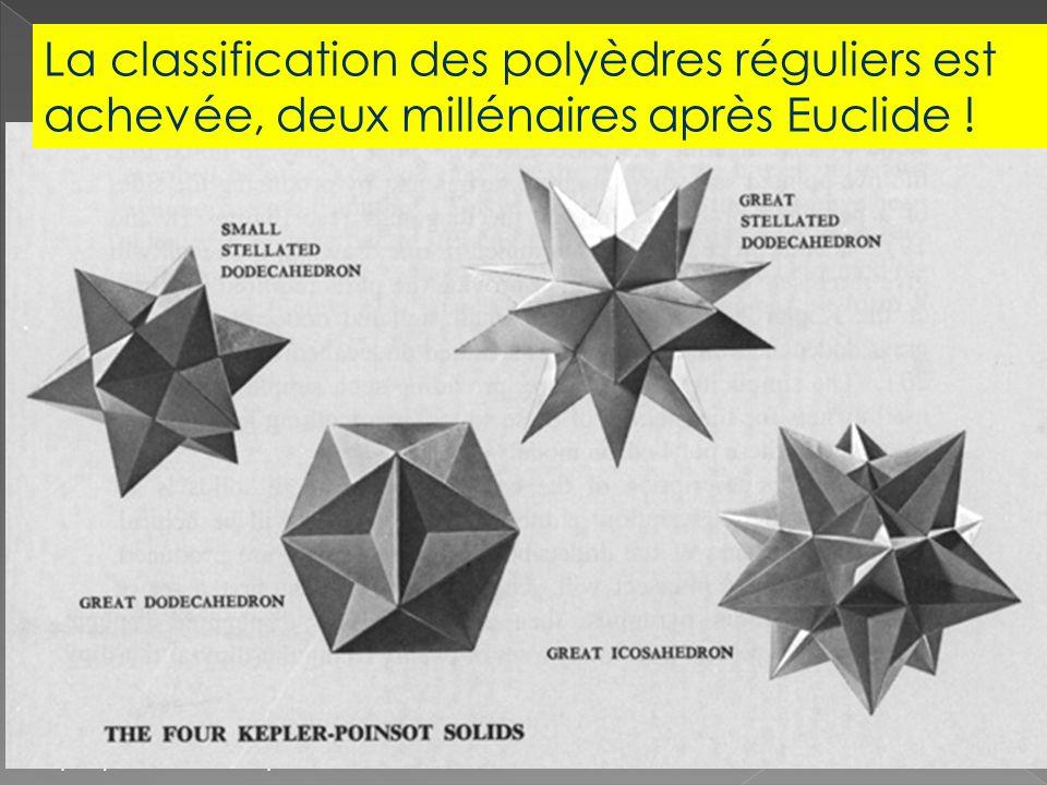 Képler et les polyèdres non convexes