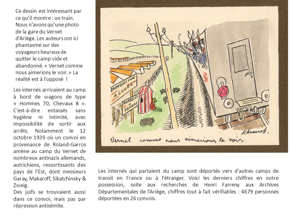 Ce dessin est intéressant par ce qu'il montre : un train