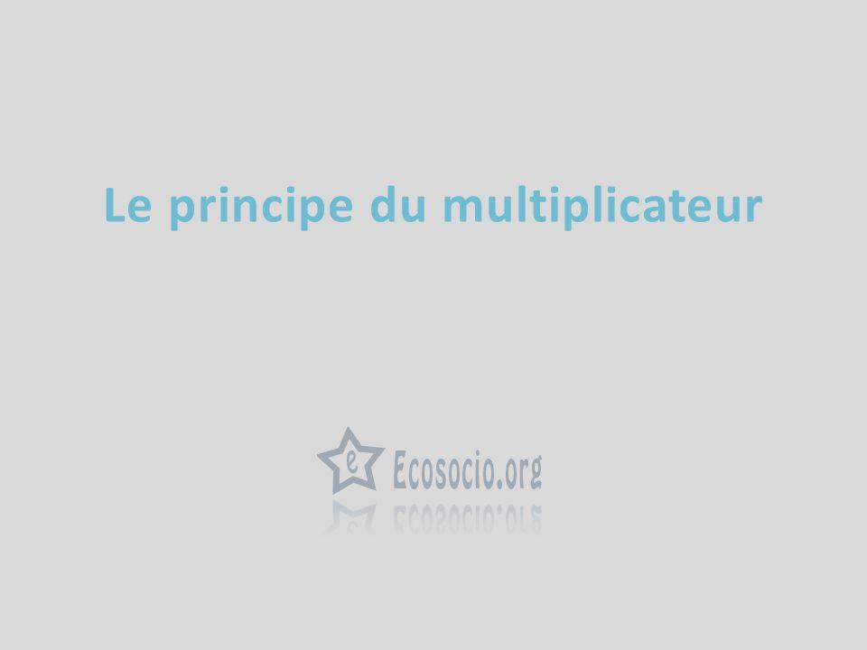Le principe du multiplicateur