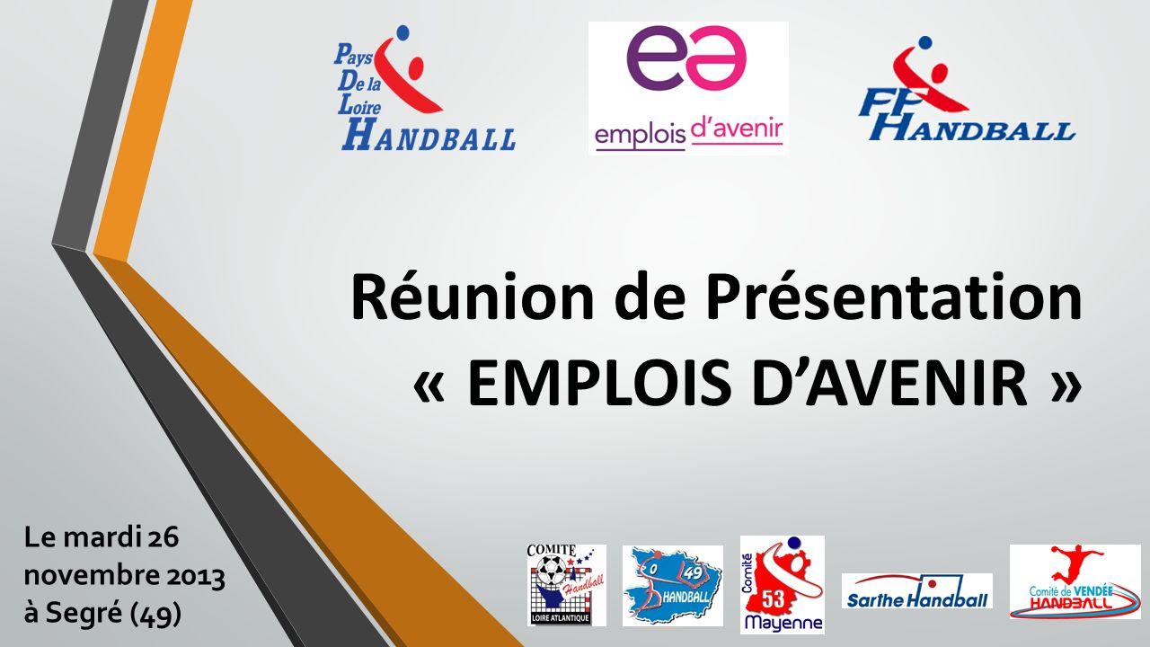 Réunion de Présentation « EMPLOIS D'AVENIR »