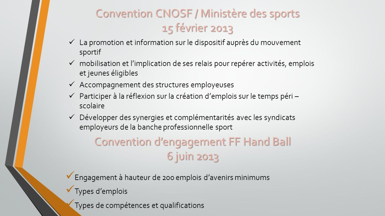Convention d'engagement FF Hand Ball 6 juin 2013