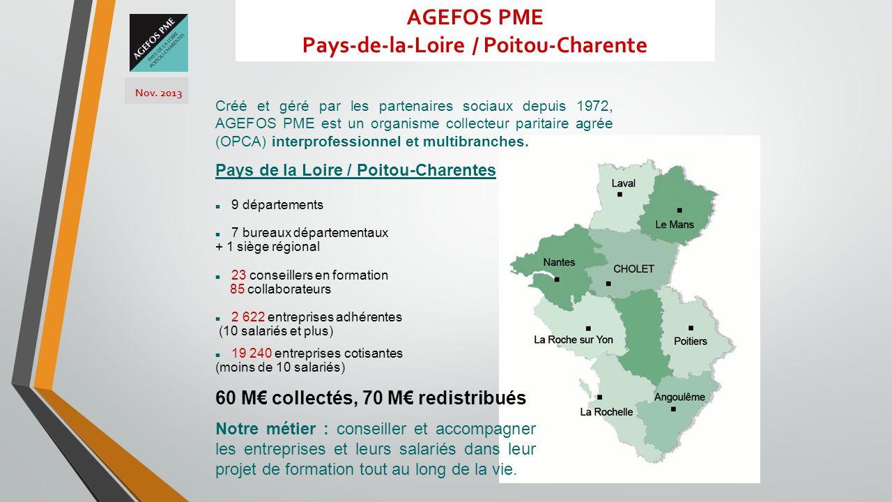 AGEFOS PME Pays-de-la-Loire / Poitou-Charente