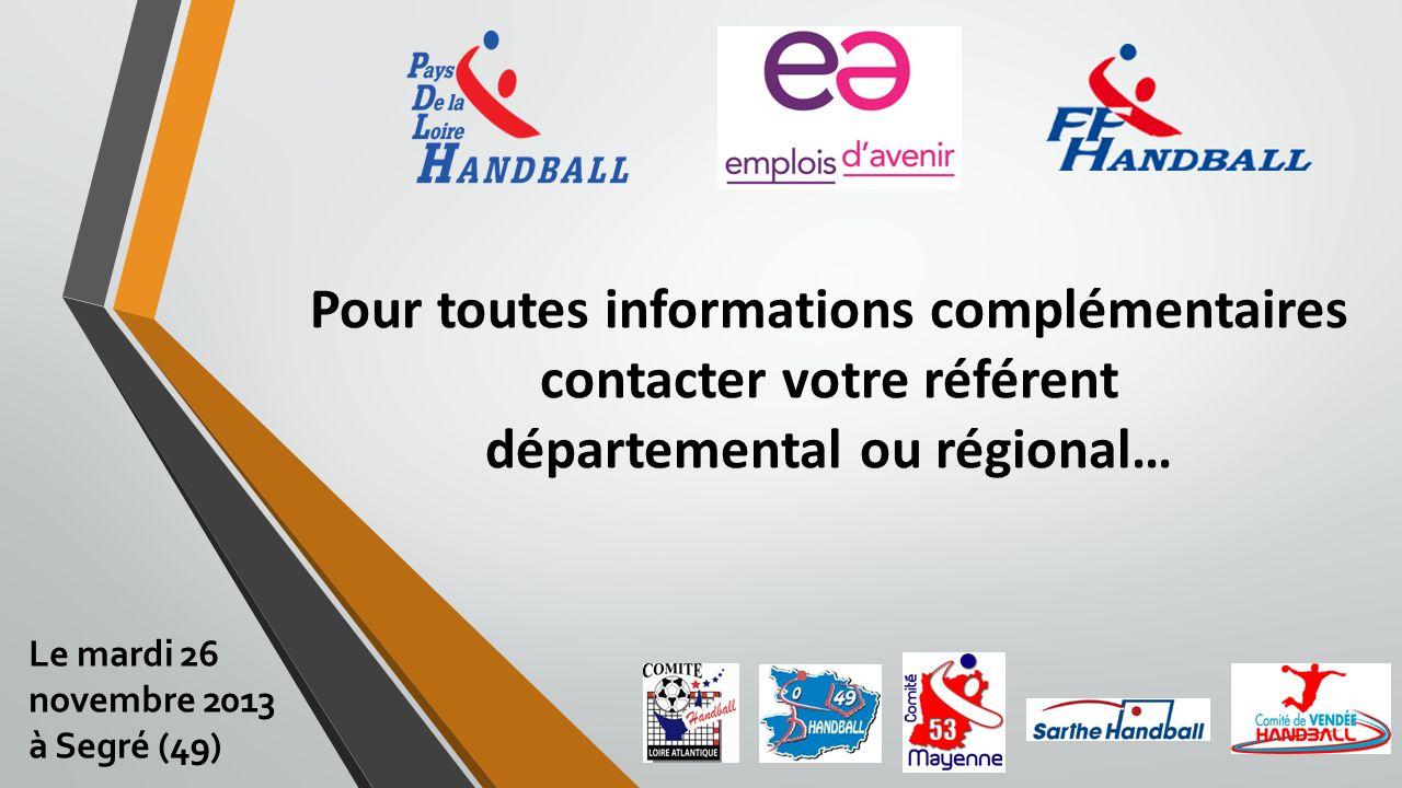 Pour toutes informations complémentaires contacter votre référent départemental ou régional…