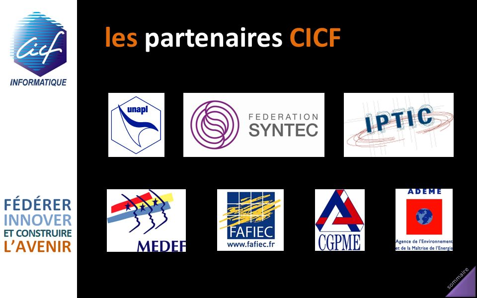 les partenaires CICF