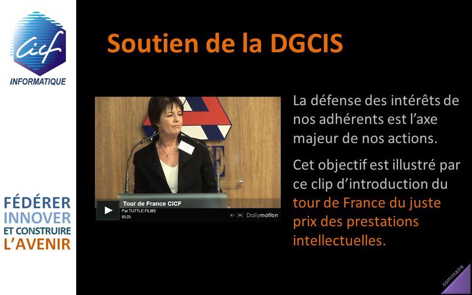 Soutien de la DGCIS