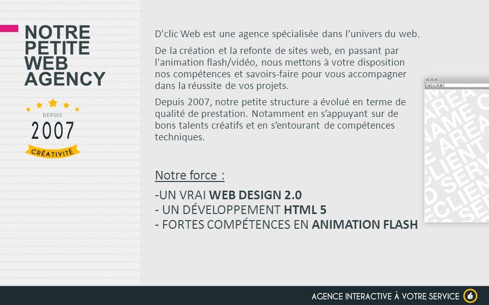 Notre petite web agency
