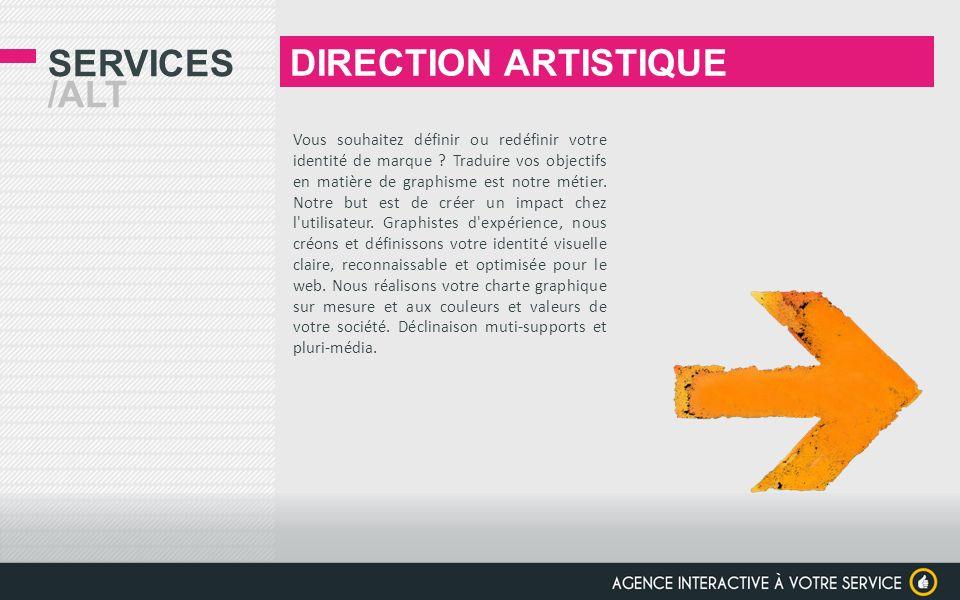 DIRECTION ARTISTIQUE Services /alt